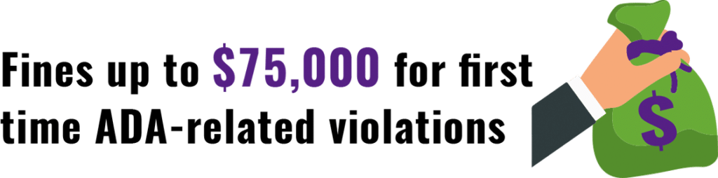 ADA Related Fines